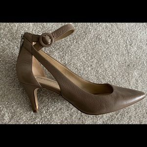 'BCBGeneration' Pumps - Taupe Genuine Leather
